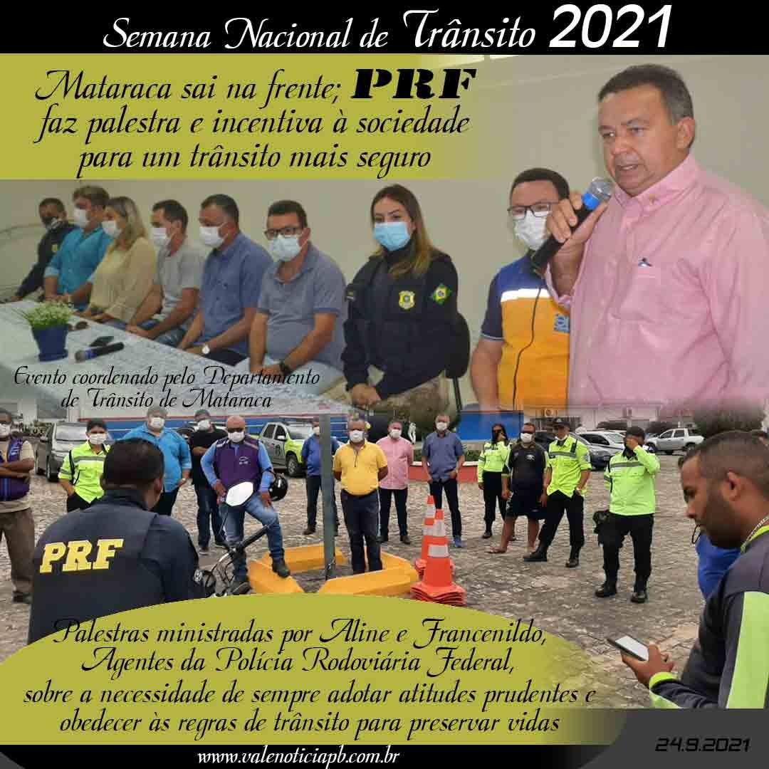 SEMANA DO TRÂNSITO 2021 – Setembro Amarelo
